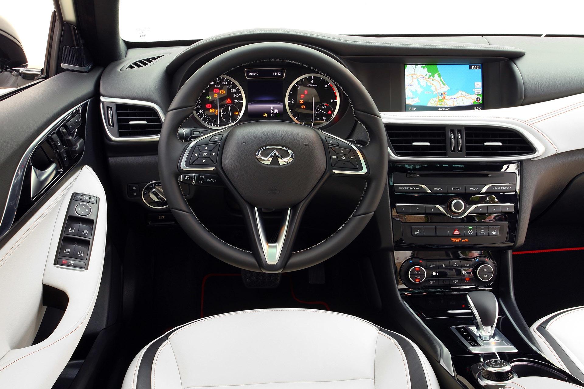 Smart Car Interior >> Infiniti Q30 2016 тест-драйв видео