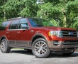 Красный Ford Expedition 2015 фото
