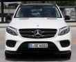 Mercedes-Benz GLE 2016 вид спереди фото