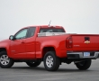 Красный Chevrolet Colorado 2015 фото