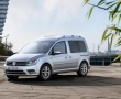 Серебристый Volkswagen Caddy 2015 фото