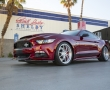Красный Ford Mustang Shelby Super Snake 2015 фото