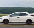 Honda Civic Type R 2015 вид сбоку фото