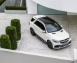 Белый Mercedes-Benz GLE 2015 фото