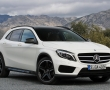 Белый Mercedes-Benz GLA 250 4Matic 2015 фото