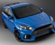 Синий Ford Focus RS 2016 фото