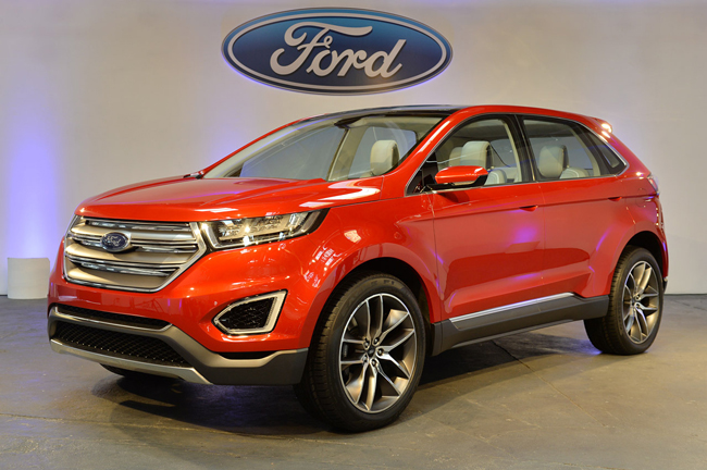 Кроссоверы и внедорожники Ford