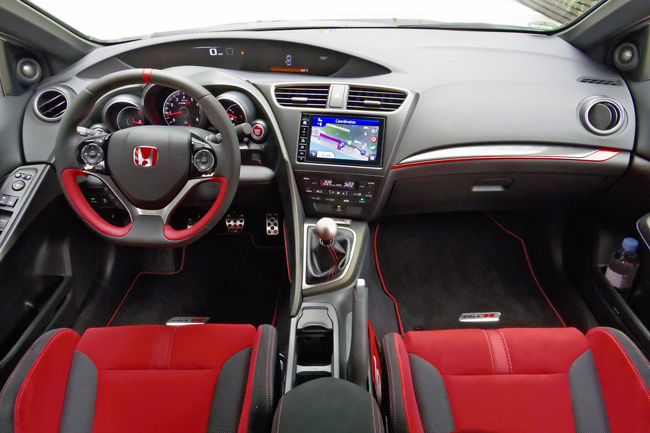 Салон Honda Civic Type R 2015 фото
