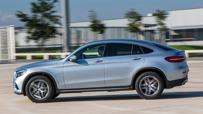 Mercedes-Benz GLC300 Coupe 2017 фото