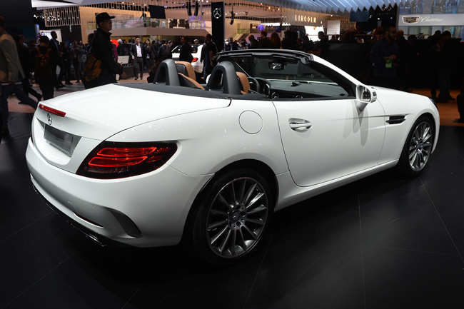 Mercedes-Benz SLC 2016 фото