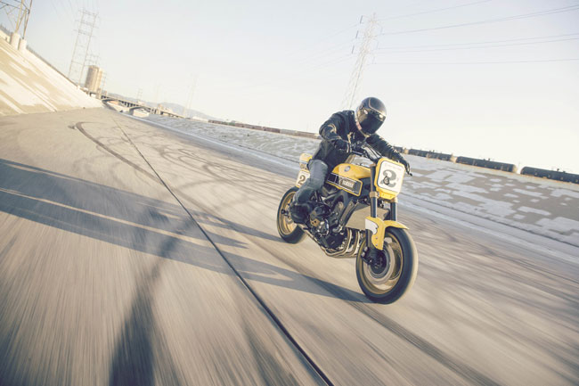 900 Faster Wasp от Yamaha и Roland Sands Design фото