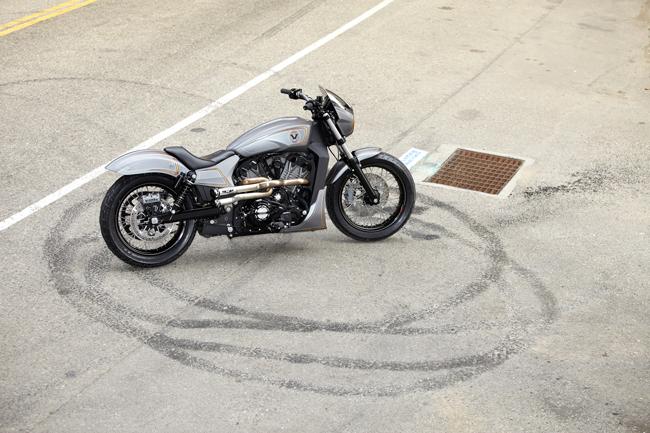 Мотоцикл Виктори Combustion концепт 2016 фото