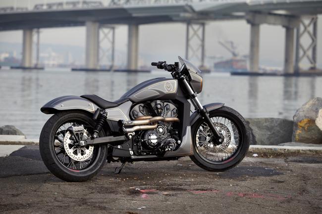Мотоцикл Victory Combustion Concept 2016 фото