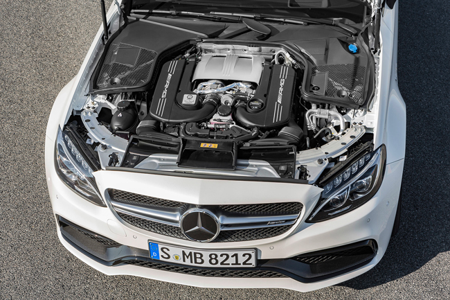 Мотор Mercedes-AMG C63 Coupe 2016 фото