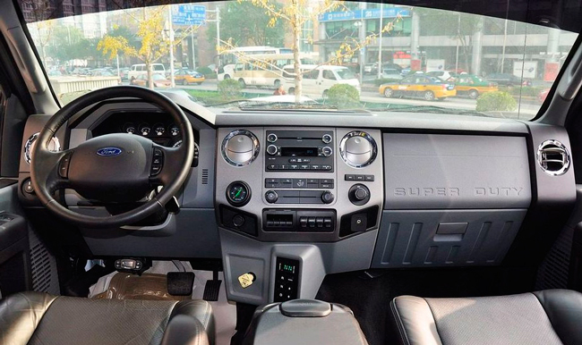 ford f650 фото салона