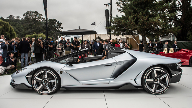 Lamborghini Centenario Roadster фото