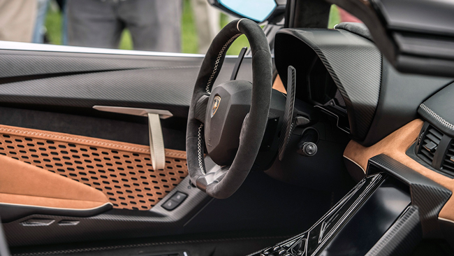 Интерьер Lamborghini Centenario Roadster фото