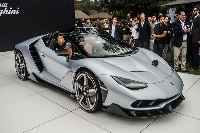 Lamborghini Centenario Roadster: фото, цена, технические характеристики