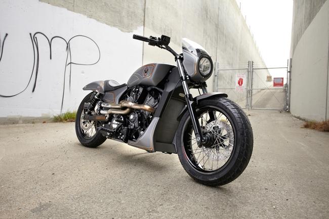 Мотоцикл Victory Combustion Concept 2016: фото, технические характеристики