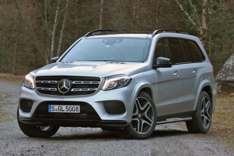 Mercedes-Benz GLS 2016 фото
