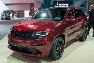 Jeep Grand Cherokee SRT Night 2016 фото
