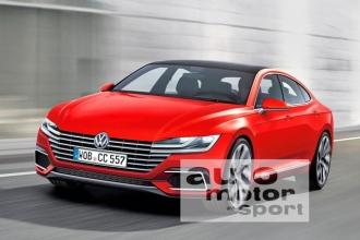 Volkswagen Passat CC 2017 первые фото, цена, старт продаж