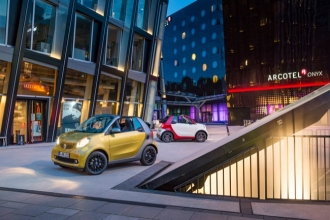 Smart Fortwo Cabriolet 2016 фото